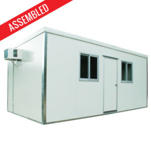 Complete fitted unit 6x3m