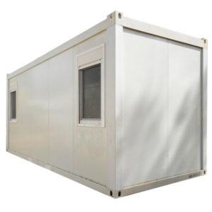 Portable container exterior